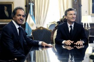 Macri se reunió con los ex candidatos presidenciales de la oposición