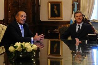 """Rodríguez Saá afirmó que quiere tener """"una relación amigable"""" con el Gobierno tras reunirse con Macri"""