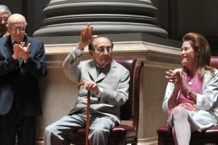 La Corte Suprema realizó un acto en homenaje a Fayt