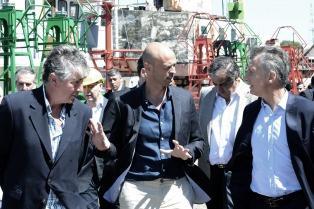 Macri se interiorizó en Tandanor sobre la reparación del rompehielos Irízar