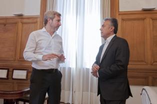 """Frigerio dijo que la elección en Mendoza le da al oficialismo """"más energía y espíritu positivo"""""""
