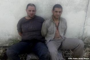 """Cristian Lanatta y Víctor Schillaci agradecieron al juez que los atraparon """"con vida"""""""