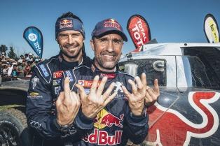 Peterhansel ganó su 12º título, el primero con Peugeot