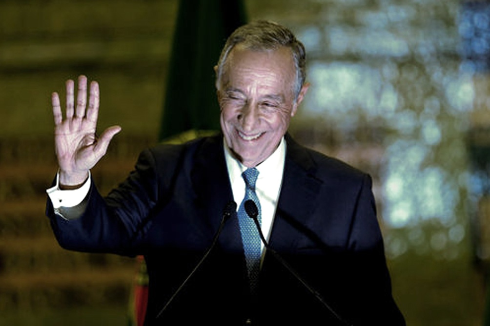Marcelo Rebelo de Sousa va por la reelección a la presidencia portuguesa