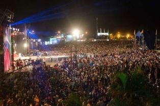 Más de 15 mil espectadores, en el cierre de la Fiesta Nacional del Chamamé