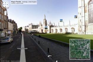 Google sumó el interior de la Universidad de Cambridge a sus servicios de Street View