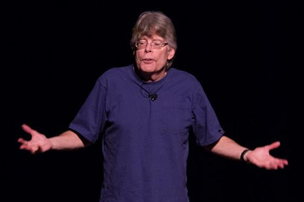 Stephen King, aterrorizado por los incidentes.