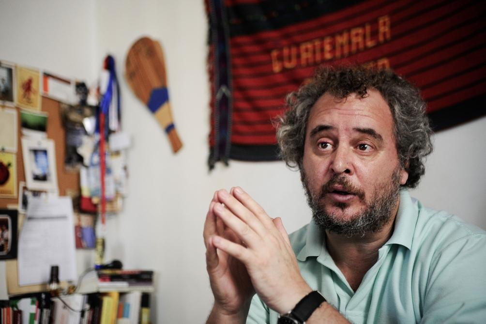 Luis Fondebrider es el director del Equipo Argentino de Antropología Forense (EAAF).