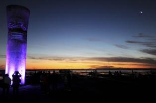 Inauguran un complejo termal en Carhué, con aguas saladas del lago Epecuén