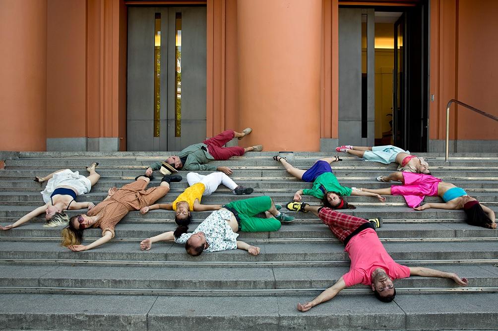 Homenaje en Bellas Artes al 50vo aniversario del Di Tella,  aquel lugar donde el tiempo, como le preocupaban a Charlie Parker y a Onganía, corría a demasiada velocidad.