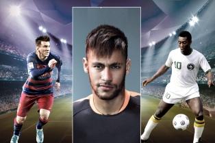 Neymar: �Tanto Messi como Pelé son dos genios�