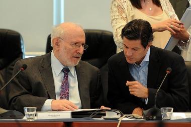 Economista Mario Blejer y diputado Luciano Laspina
