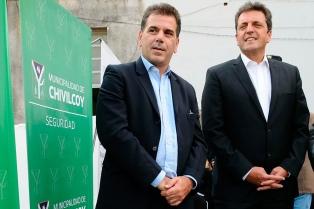 Massa y Ritondo participaron en un acto en Chivilcoy, uno de los bastiones del Frente Renovador