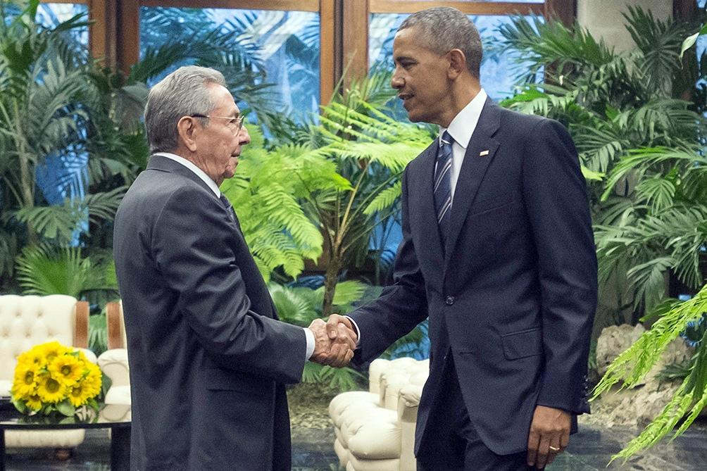 En marzo de 2016 el exmandatario visitó la capital cubana.