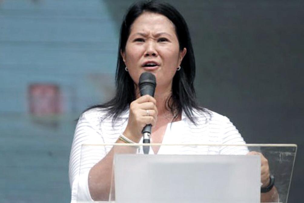 Keiko Fujimori criticó su rival en el balotaje