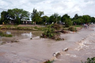 Hay cerca de 7.000 damnificados por las lluvias en Entre Ríos