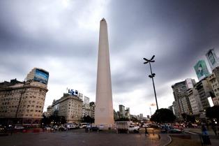 Domingo con cielo nublado, sin lluvias en Capital Federal y áreas suburbanas