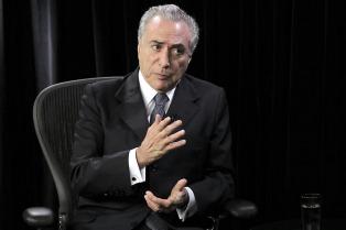 Brasil: Michel Temer negó haber liderado un golpe y anunció un ajuste de gastos