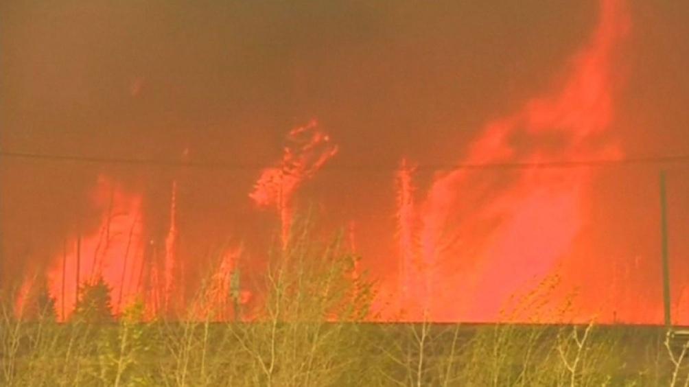 Los incendios devastan el oeste de Canadá y la costa oeste de Estados Unidos desde hace varias semanas