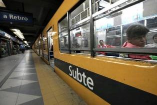 Metrodelegados pararon en la Línea C del subte