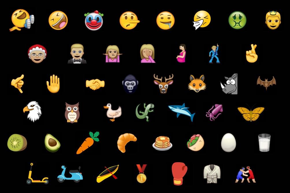 El proceso de creación de cada emoji lleva en promedio dos años.