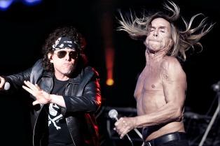 Iggy Pop y Calamaro compartirán cartel en un festival en Perú