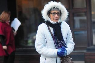 """Temperaturas bajo cero en el centro del país por irrupción de """"aire frío polar"""""""