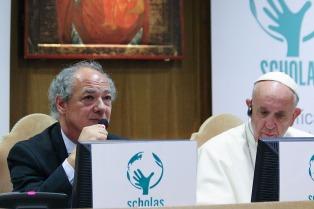 """""""Temo que resbalen en el camino hacia la corrupción"""", dijo el papa Francisco"""