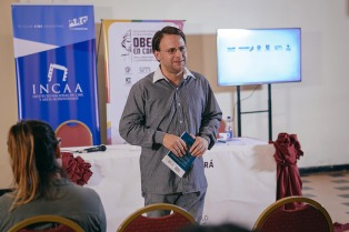 Nicolás Batlle presentó su libro y dio una clase magistral sobre producción