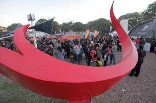 Ochenta mil personas visitaron la Bienal de Esculturas de Chaco durante su primer fin de semana