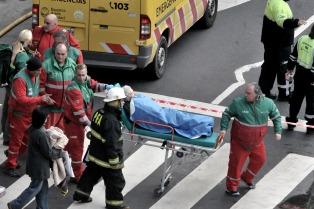 Murió otro de los operarios que inhaló gas en el escape de Barracas