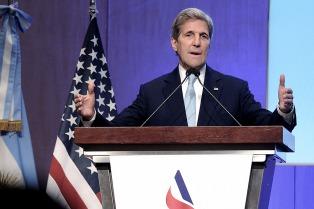 """Kerry aseguró que con Macri """"habrá un importante flujo de inversiones bilaterales"""""""