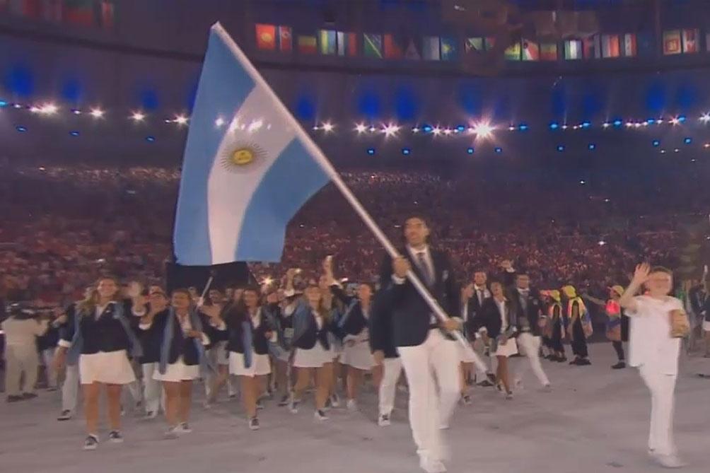En los JJOO de Río 2016 fue el abanderado olímpico.