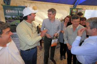 En Chaco, el jefe de Gabinete propuso a ganaderos del nea trabajar juntos un potencial productivo enorme