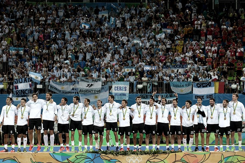 El oro olímpico en 2016 es el máximo logro del hockey masculino.