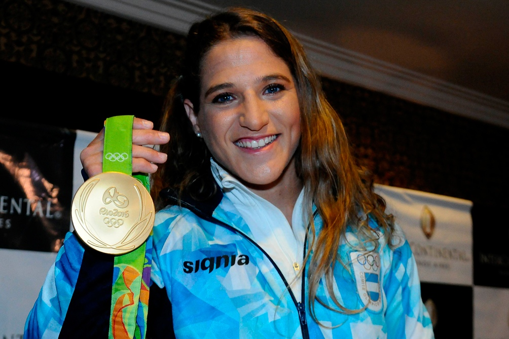 """La """"Peque"""" Pareto quiere revalidar el oro que logró en Río 2016."""