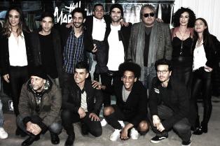 """El elenco de """"El Marginal"""" se reunió con fans para ver los dos últimos capítulos de la tira"""