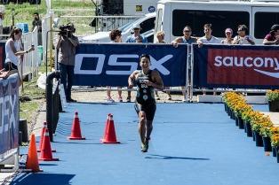 Se corre en Buenos Aires el campeonato panamericano de triatlón
