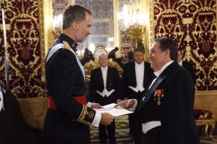 El nuevo embajador en España presentó sus cartas credenciales ante el Rey Felipe VI