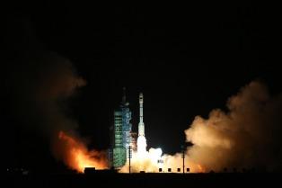 China lanzó al espacio su segundo laboratorio espacial