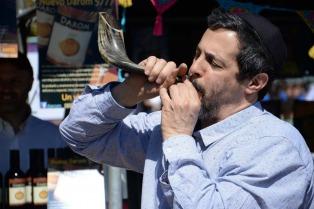 Más de 50 mil personas celebraron el Rosh Hashana en Recoleta