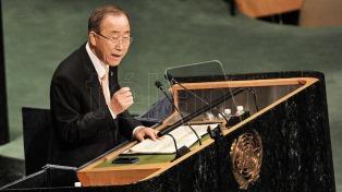 Ban Ki-moon reclamó investigar los crímenes de guerra en Siria