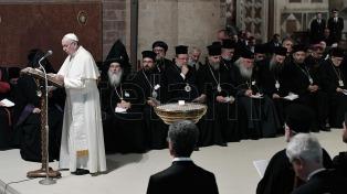 Los 27 conflictos por los que rezaron el Papa y los líderes cristianos en Asís