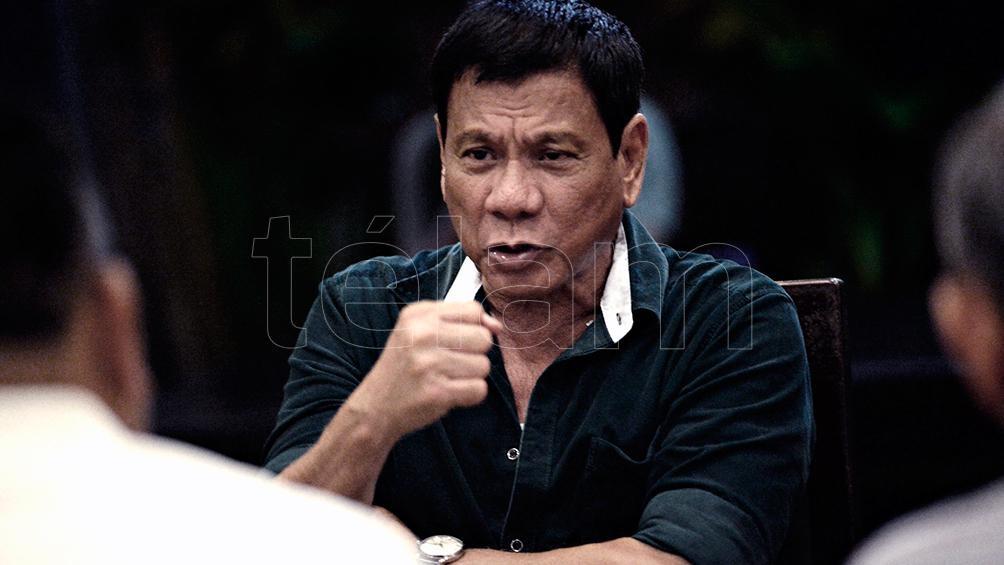Duterte no puede aspirar a la reelección
