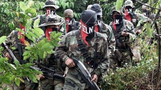 Una veintena de guerrilleros y dos líderes del ELN mueren en una operación del Ejército