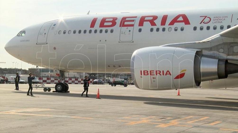 La compañía área española eligió a Uruguay como el primer destino para probar el pasaporte sanitario en un vuelo que llegó desde Madrid a Montevideo el 10 de abril pasado.