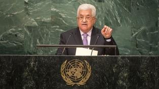 Abbas le dio un ultimátum a Israel para abandonar los territorios palestinos