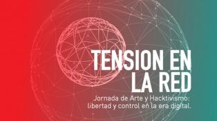 """""""Tensión en la red"""": una crítica tecnológica que cruza la cultura hacker, el arte y el activismo"""