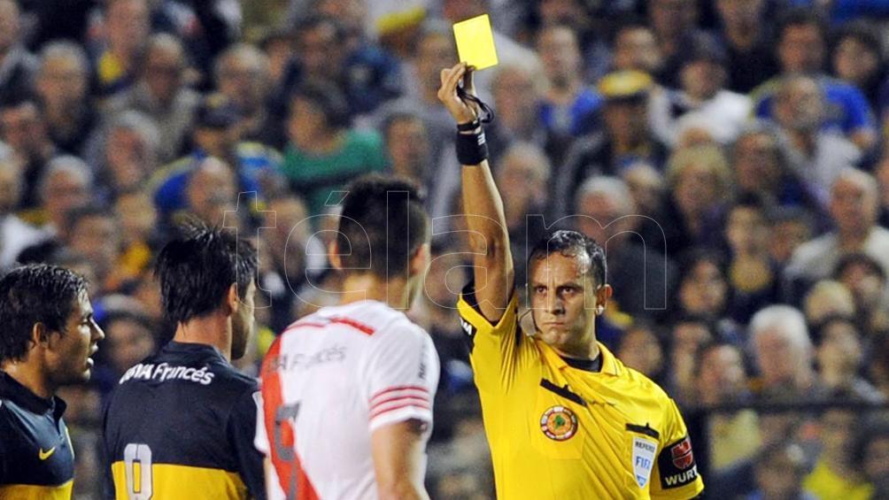 Herrera será el juez en la final de la Supercopa Argentina (foto archivo)