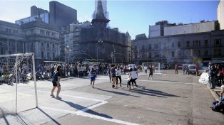 Las Deportistas Argentinas copan las calles y las canchas a favor del aborto legal
